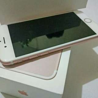Iphone 7 Rosegold 128gb factory unlocked legit iphone