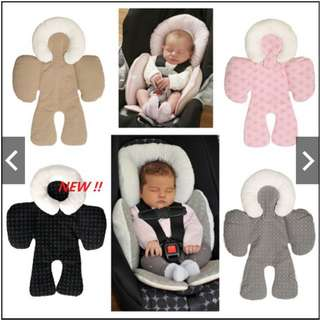JJ Cole Baby Head & Body Support Pillow Car Seat & Strolle