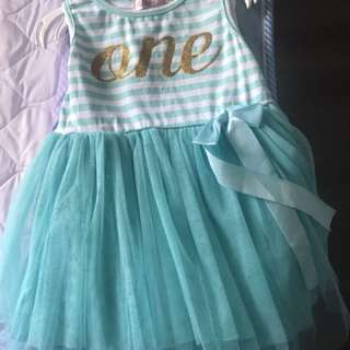 1st Birthday Dress(Size 80)