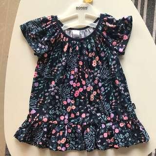 Bonds Australia Floral Dress 18-24m