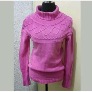 WA408 Cherokee Pink Knitted Sweater (See pic 3 for flaw)