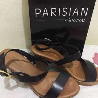 SALE!! Parisian Heel Sandal - Size 6 - Black