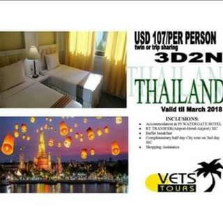 THAILAND LAND ARRANGEMENT