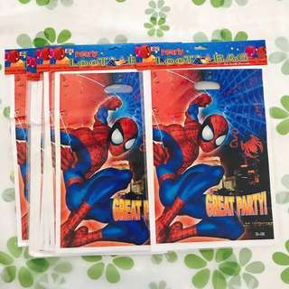 Birthday Gift Bag - Spider Man