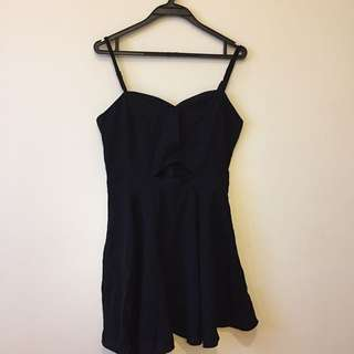 Little Black Cutout Dress