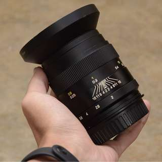 Zhongyi video lens 35mm f/2 CANON MOUNT