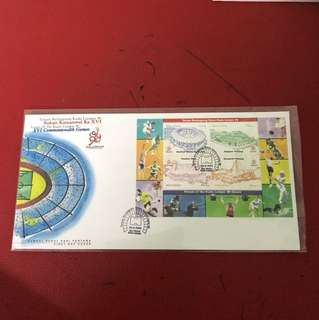 Malaysia Miniature Sheet FDC As in Picture