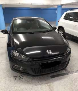 VW Scirocco for rent