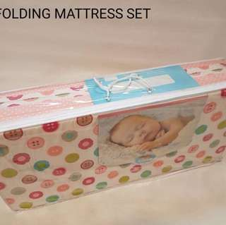 [Preorder]Baby Folding Mattress Set