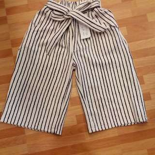Stripes Cullote Kulot
