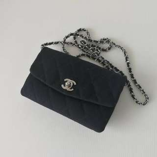 Authentic Chanel Mini Square Flap Bag