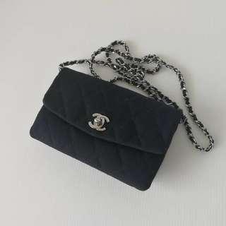 Authentic Chanel Mini Square Flap Bag