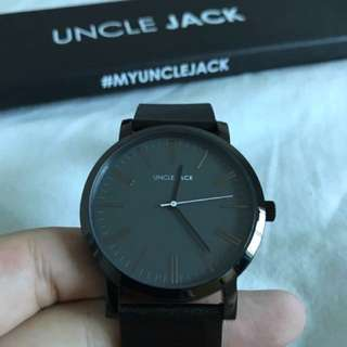 UNCLE JACK WATCH BRAND NEW - Black-Black Christmas Gift
