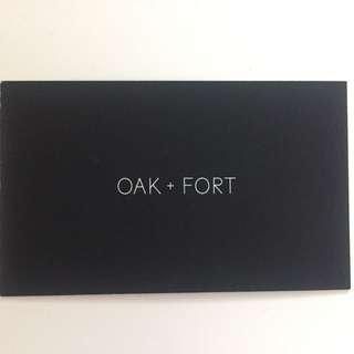 $65.54 Oak + Fort GC/Store Credit