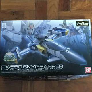 RG Gundam Skygrasper