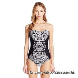 Bandana-design One Piece Swimsuit