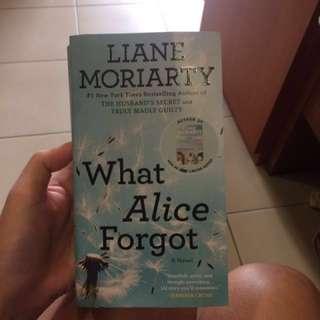 what Alice forgot by Liane Moriatry