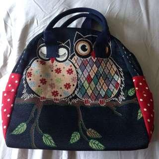 Handbag + backpack from Thailand