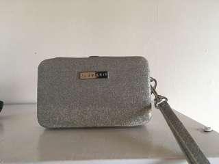 Silver Glitter wallet