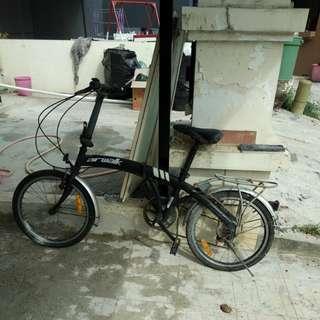 folding bike (sepeda lipat)