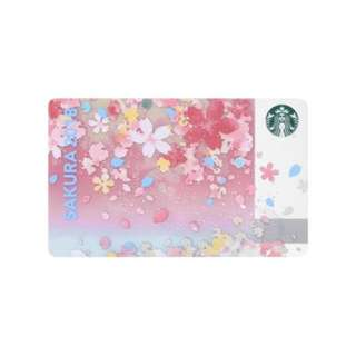 Starbucks Sakura Japan 2018 Card