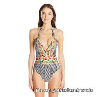 Stylish One-Piece Swimsuit