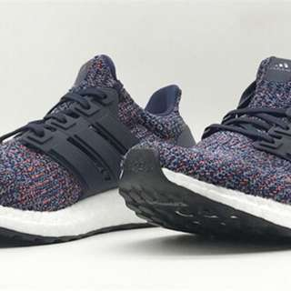 Adidas Ultraboost 4.0 Black Rainbow