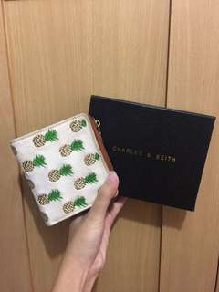 Charles and Keith pinneaple wallet