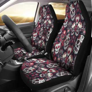 Calavera Car Seat Covers