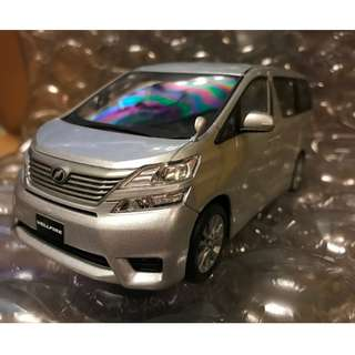 1/24 VELLFIRE 20系前期 銀 豐田原廠 金屬模型