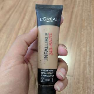 L'ORÉAL Infallible 24hr matte foundation