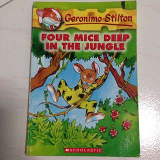 Geronimo Stilton and idioms phrases