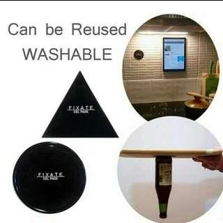 🚚 奈米膠隨手貼,可水洗重覆使用,兩片一組特價49元