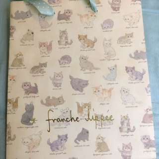 Franche Lippee cute paper bag