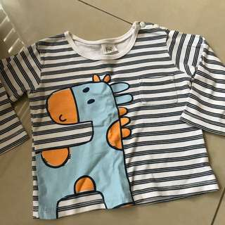 1-2 yrs old long sleeves