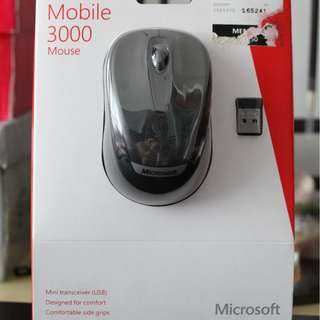 Microsoft Wireless Mouse 3000 (Brand New)