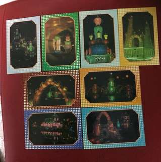 China Stamp 邮政明信片as in picture —-8 pieces