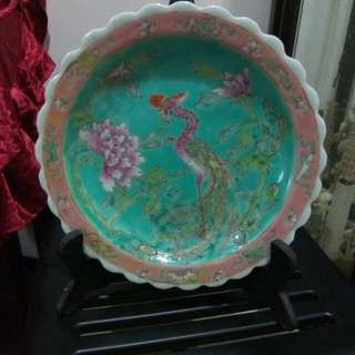 Old antique plate for cheap sales
