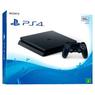 Brand New Sealed Sony PS4 Playstation Slim Console 500GB