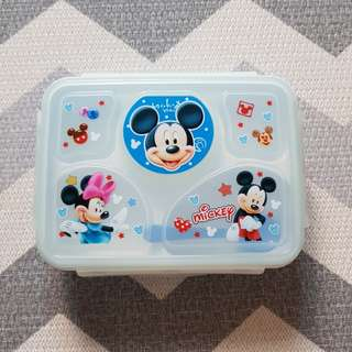 NEW! Lunchbox 5sekat Mickey