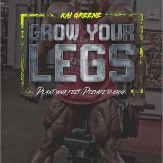 KAI GREENE legs workout plan