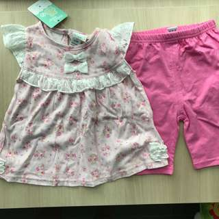 BN Baby girl set
