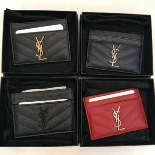 Authentic Saint Laurent Card Case