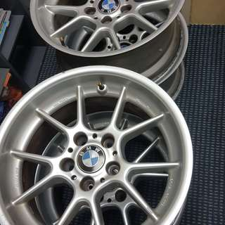 "Authentic BMW BBS RK 003 17"" Rim"