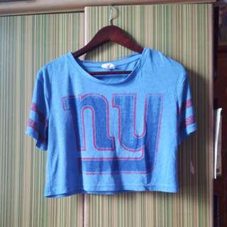 Preloved crop top jersey type
