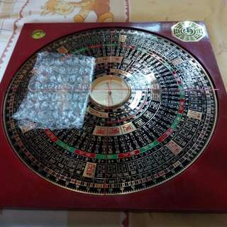 Homemade feng shui compass