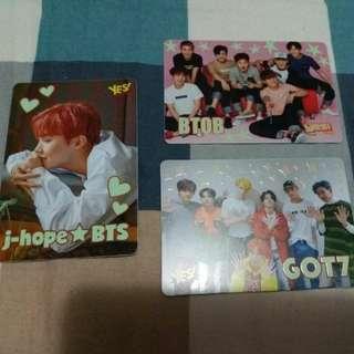 J-hope/ BTOB/ GOT7 夜光