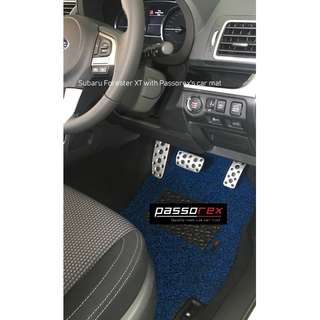 Carmats/Floormat/Drivermat Customisation - Subaru Forester XT