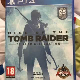 PS4 Game Rise of the Tomb Raider (DLC available)