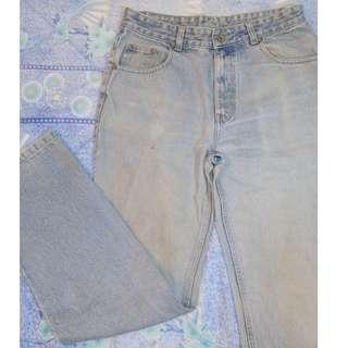 BURLY Denim Jeans Men's Size